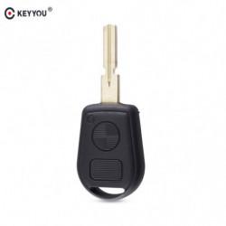 Keyyou Fjern 2 Buttton Nøgle Sag Dække Over Til Bmw E31 E32 E34 E36 E38 E39 E46 Z3 Udskiftning Bil Nøgle Skal