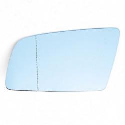 Auto Venstre Side Blå Opvarmet Tonede Vinge Spejl Glas Til Bmw 5 Serise E60 E61 0310