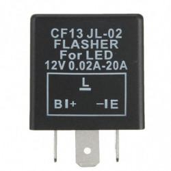 1 Styk Universial 3 Pin Elektronisk Flasher Relæ Modul Cf13 Rette Op Led Tur Signal Lys Motorcykel Fejl Hurtig