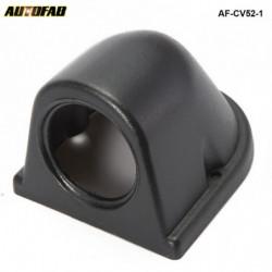 2 Inch 52mm Sort Abs Plast Målestok Måler Dash Instrumentbræt Mount Pod Holder Til Honda Accord 9802 Afcv521