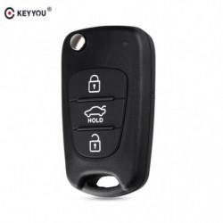 Keyyou Flip Folde Fjern Auto Bil Nøgle Skal Til Kia Rio 3 Picanto Ceed Cerato Sportage K2 K3 K5 Sjæl Til Hyundai