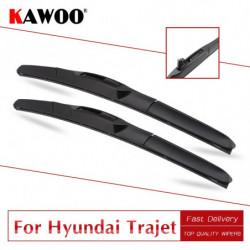 Kawoo Til Hyundai Trajet Bil Blød Gummi Windcreen Aftørringspapir Blades 1996 1997 1998 1999 2000 2001 2002 2003