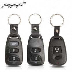 Jingyuqin 10stk Nøgle Skal 2 3 4 Knap Til Hyundai Kia Carens Fob 2 1 3 1 Knapper Fjern Keyless Indgang Dække