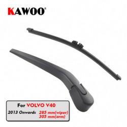 Kawoo Bil Bag Wiper Klinge Blades Tilbage Vindue Aftørringspapir Arm Til Volvo V40 Hatchback 2013 Fremad 285mm