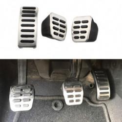 1 Sæt Rustfri Stål Bil Pedal Pedaler Til Vw Sæde Skoda Golf 3 4 Polo 9n3 Octavia Ibiza Fabia Til Audi Tt Pedale