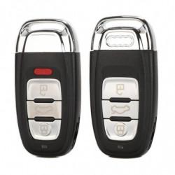 Jingyuqin 3 Knapper Smart Fjern Bil Nøgle Skal Dække Over Sag Fob Til Audi A4l A6l Q5 A5 754c 754g Med Klinge