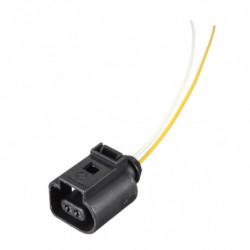 1j0973702 Elektrisk Seletøj 2 Pin Stik Prop Ledninger Til Vw Audi A4 A6 A8 Q5 Q7 20042009 1j0 973 702