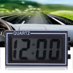 Lcd Tændte Digital Bil Ur Auto Bil Lastbil Instrumentbræt Dato Tid Kalender Sort Køretøj Elektronisk Digital